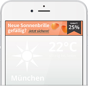 Relevantes Mobile Marketing mit Geo-Lokalisierung